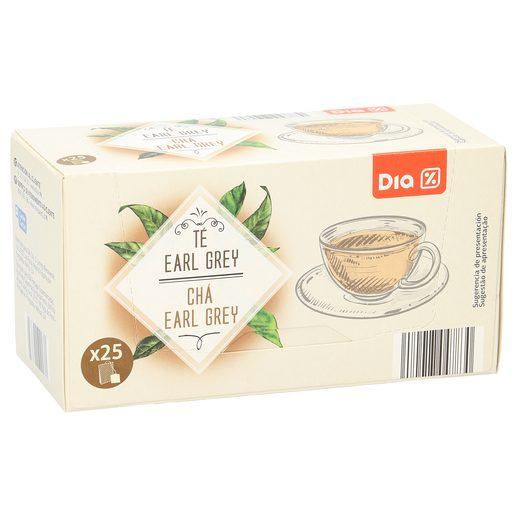 DIA té negro earl grey estuche 25 bolsitas