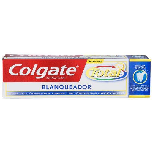 COLGATE Total pasta dentífrica blanqueador avanzado tubo 75 ml