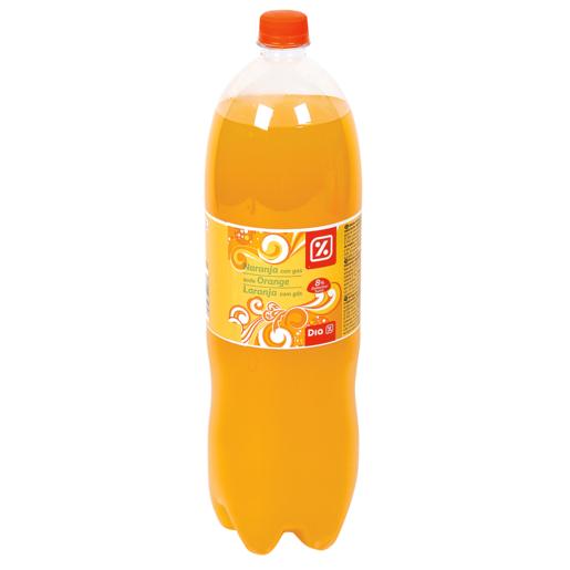 DIA naranja con gas botella 2 lt