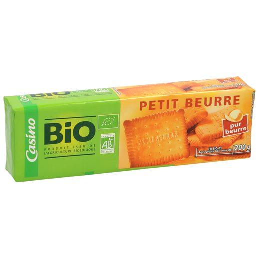 CASINO BIO galletas de mantequilla paquete 200 gr