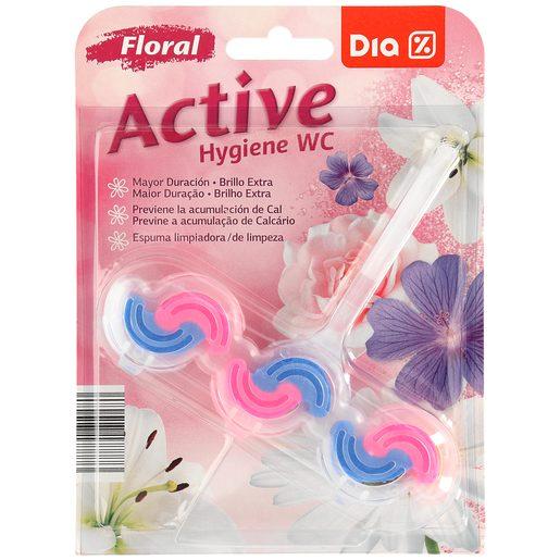 DIA bloc wc floral activo blíster 1 ud