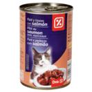 DIA paté para gatos con trozos de salmón lata 400 gr