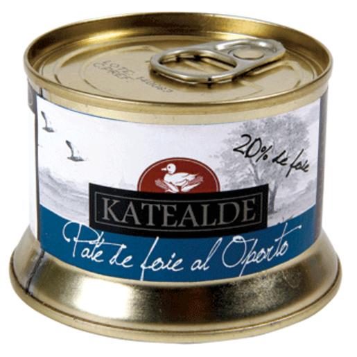 KATEALDE paté de foie al aporto lata 130 gr