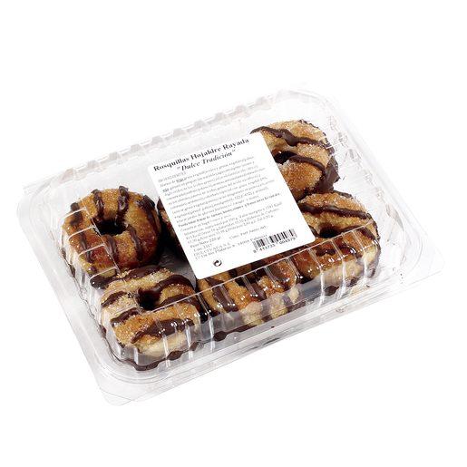 DULCIVAPA rosquillas hojaldre rayadas 220 gr