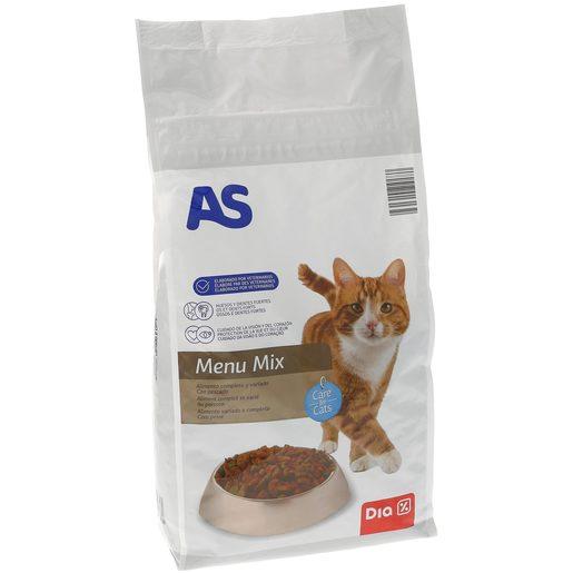 AS alimento para gatos pescado bolsa 1.5 kg