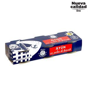 DIA MARI MARINERA atún en tomate pack 3 latas de 52 gr
