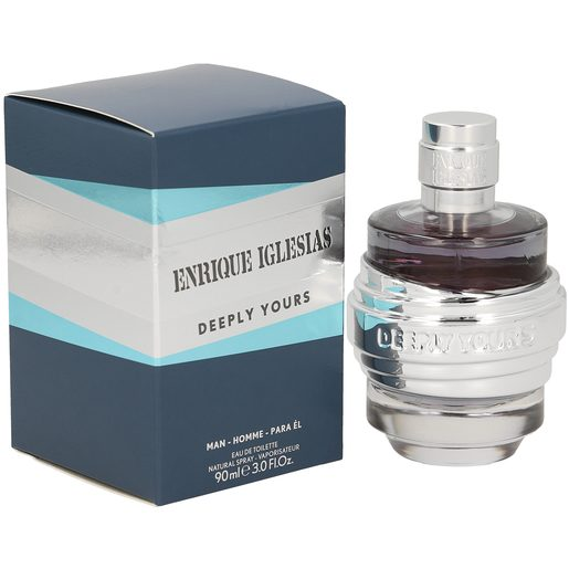 ENRIQUE IGLESIAS deeply yours para hombre spray 90 ml