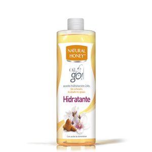 NATURAL HONEY aceite corporal hidratante de almendras bote 300 ml