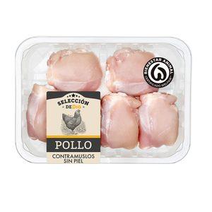 SELECCIÓN DE DIA contramuslos de pollo sin piel (peso aprox. 700 gr)