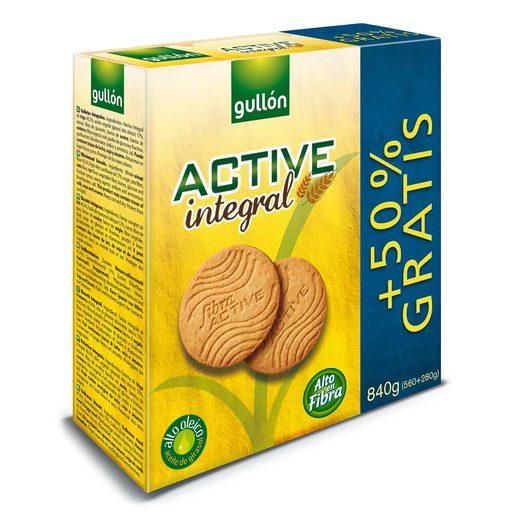 GULLON galletas active integral caja 400 gr