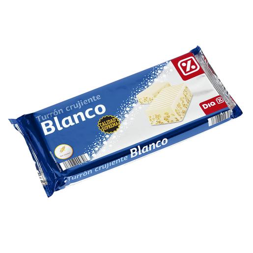 DIA turrón crujiente chocolate blanco estuche  300 gr