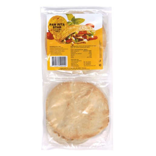 STAR pan de pita precocido blister 400 grs