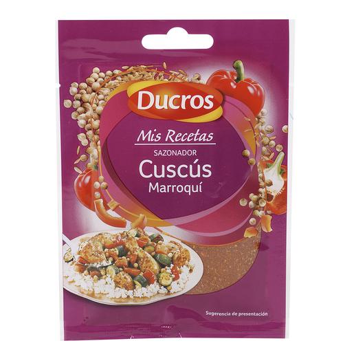 DUCROS sazonador cuscús marroquí sobre 20 gr