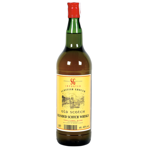 SCOTISH GROCER  whisky escocés botella 1 lt