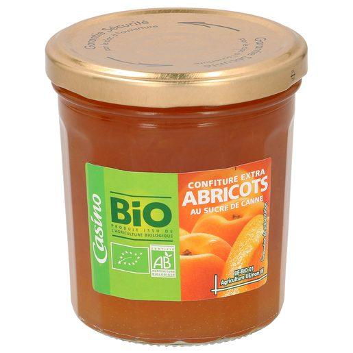 CASINO BIO mermelada de albaricoque frasco 360 gr
