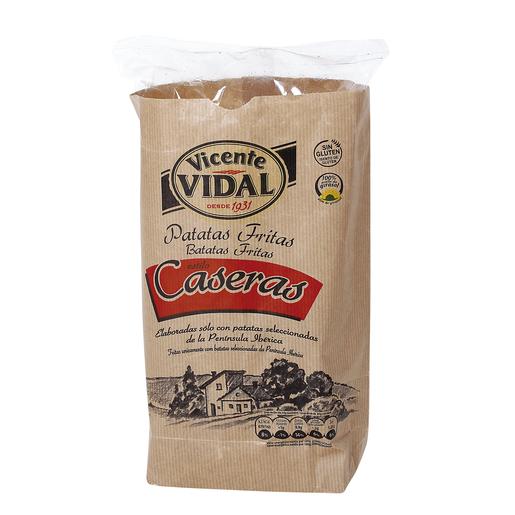 VICENTE VIDAL patatas fritas caseras cartucho 140 gr