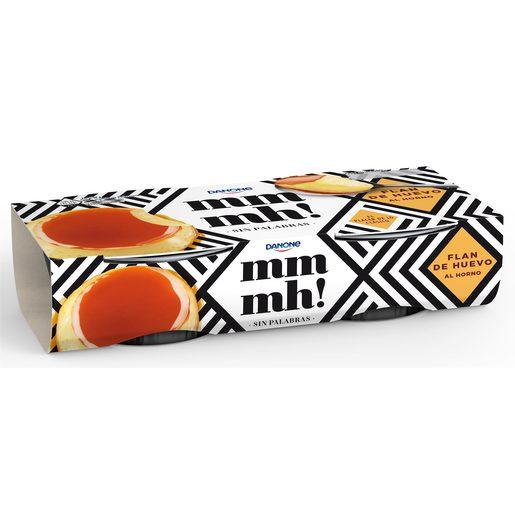 DANONE MMMH! flan de huevo pack 2 unidades 100 gr