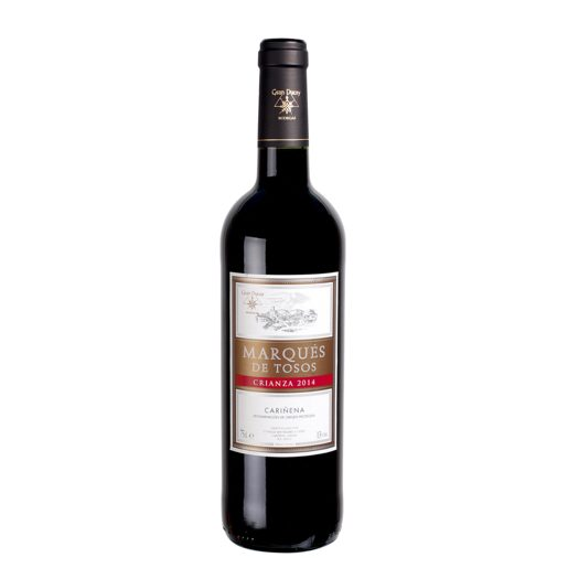 MARQUES DE TOSOS vino tinto DO Cariñena botella 75 cl