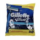 GILLETTE Blue II maquinilla de afeitar desechable bolsa 20 uds