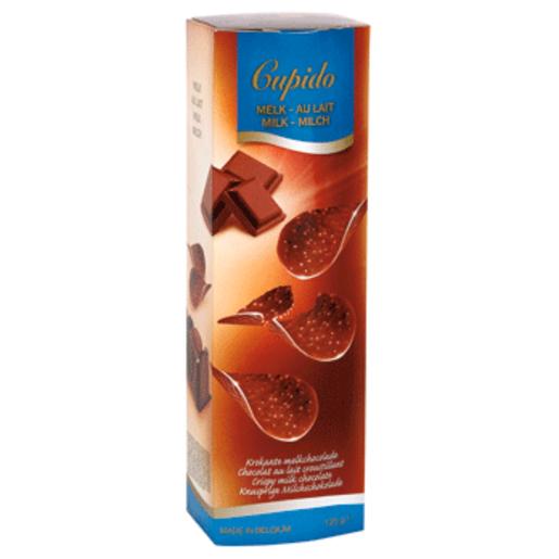 CUPIDO chips chocolate con leche caja 125 gr