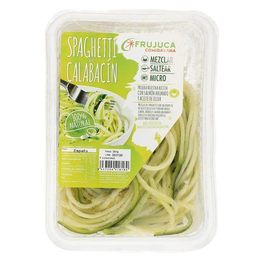 Spaguetti de calabacín bandeja 200 gr