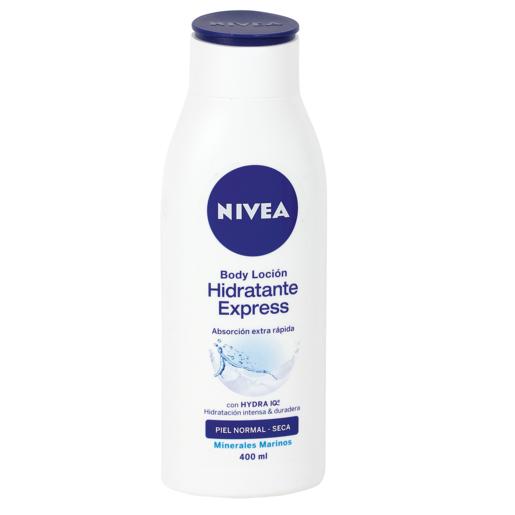 NIVEA loción corporal hidratante express piel normal/seca bote 400 ml