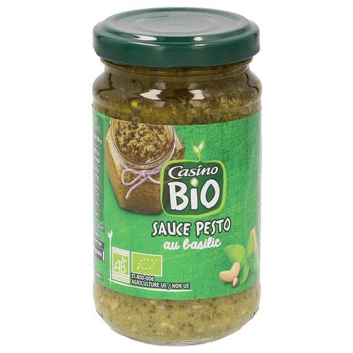 CASINO BIO salsa pesto frasco 190 gr