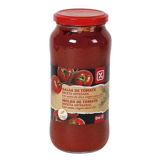 DIA salsa de tomate artesana frasco 550 gr