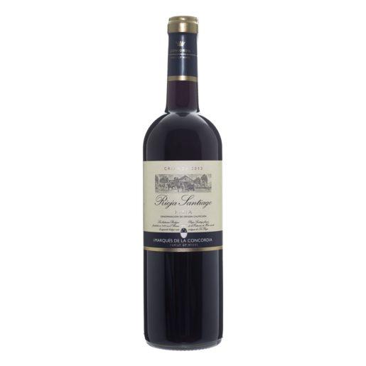 SANTIAGO vino tinto Do Rioja botella 75 cl