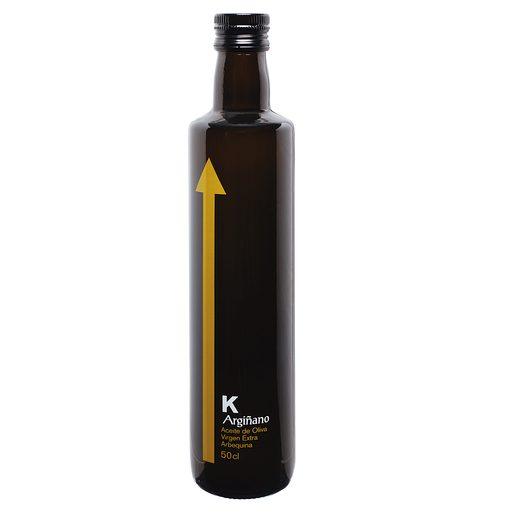 K ARGIÑANO aceite de oliva virgen extra arbequina botella 500 ml