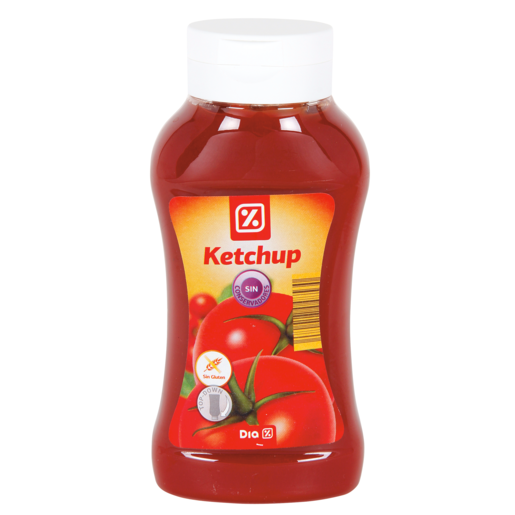DIA ketchup BOTELLA 560GR