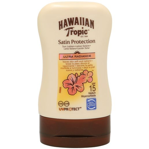 HAWAIIAN TROPIC loción protectora spf 15 bote 100 ml