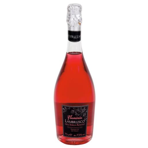 LAMBRUSCO FLAMINIA vino rosado botella 75 cl