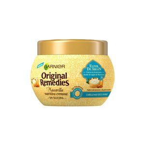 ORIGINAL REMEDIES mascarilla elixir de argán tarro 300 ml