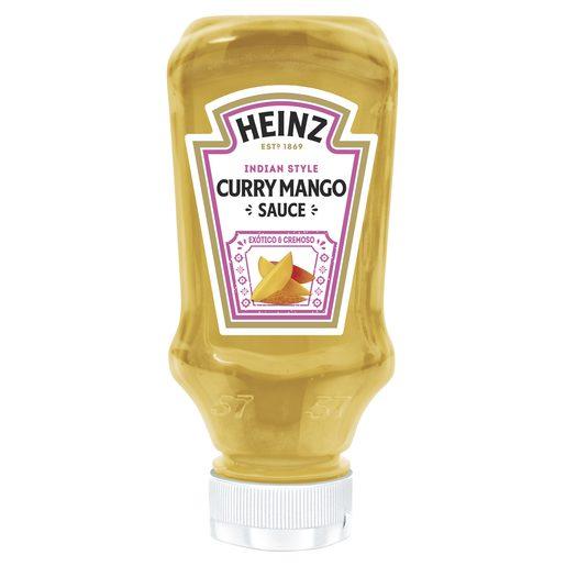HEINZ salsa curry con mango bote 220 ml
