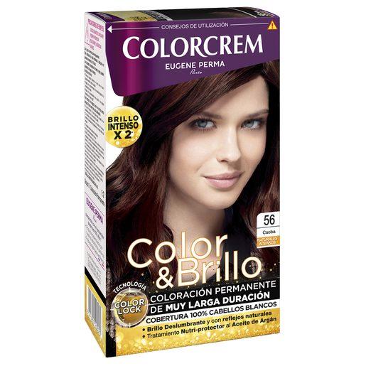 COLORCREM tinte Caoba Nº 56 caja 1 ud