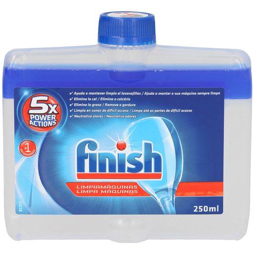 FINISH limpiador para máquina lavavajillas botella 250 ml