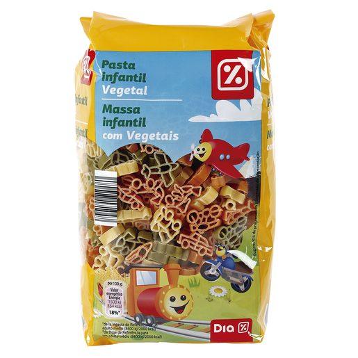 DIA pasta infantil vegetal bolsa 500 gr