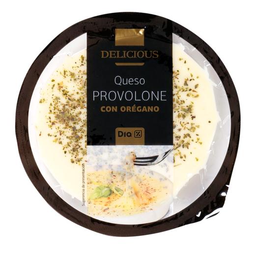 DIA DELICIOUS queso provolone con orégano envase 150 gr