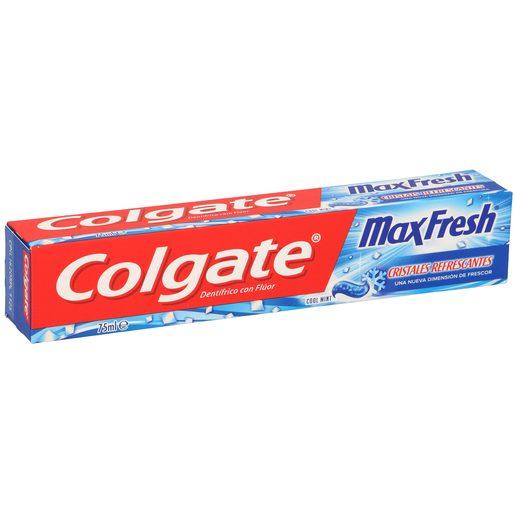 COLGATE MAX FRESH pasta dentrifica azul tubo 75ml