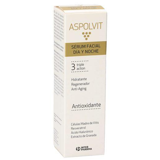 ASPOLVIT serum facial día y noche triple acción 30 ml