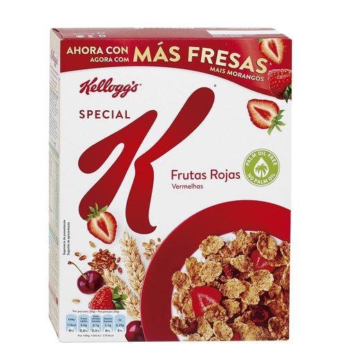 KELLOGGS cereales special k con frutas rojas caja 300 gr