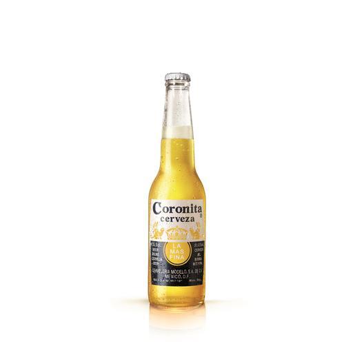CORONITA cerveza rubia mejicana botella 35 cl