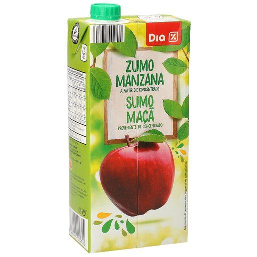 DIA zumo de manzana envase 1 lt