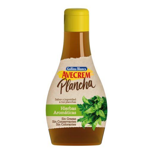 GALLINA BLANCA salsa avecrem plancha hierbas aromáticas bote 150 gr