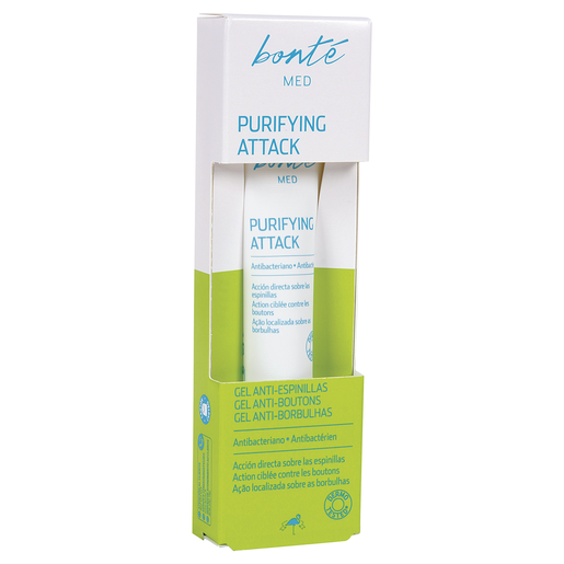 BONTE gel anti-espinillas purificante caja 15 ml