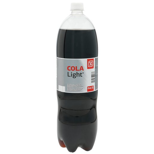 DIA refresco de cola light botella 2 lt