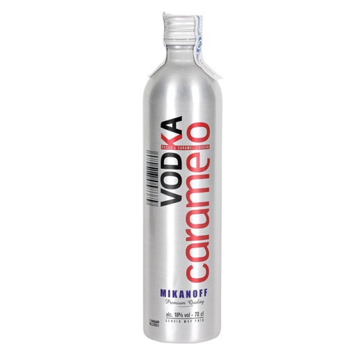 MIKANOFF vodka caramelizado botella 70 cl