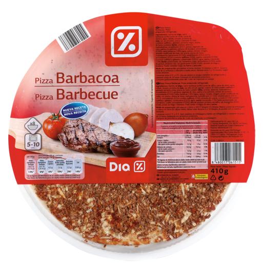 DIA pizza barbacoa envase 410 gr