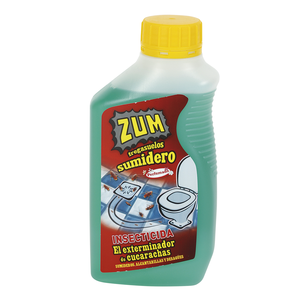 ZUM sumideros insecticida exterminador de cucarachas botella 500 ml